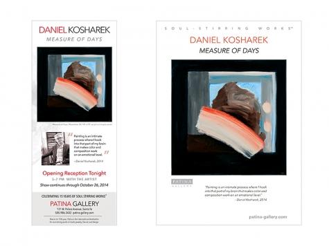 Ad & Postcard Design for Patina Gallery, Santa Fe, NM