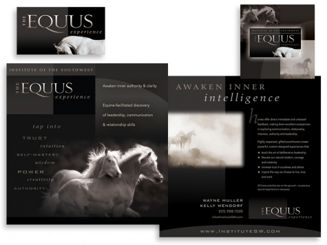 Graphic design and print design for the Institute of the Southwest, Santa Fe, NM