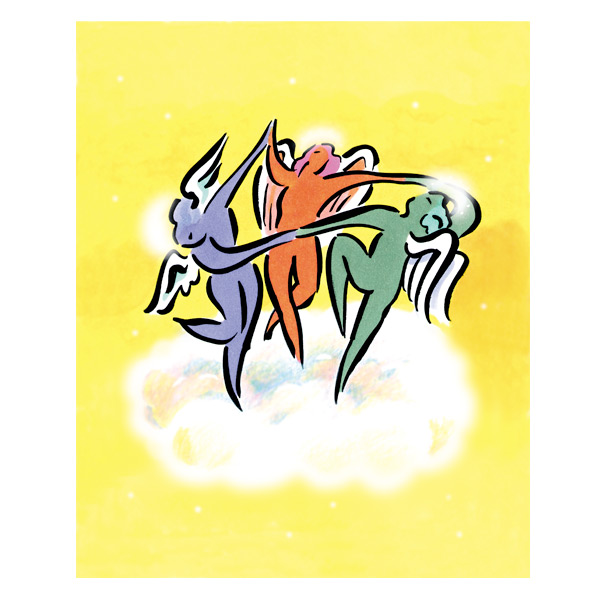 Greeting card illustration, Andrews & McMeel