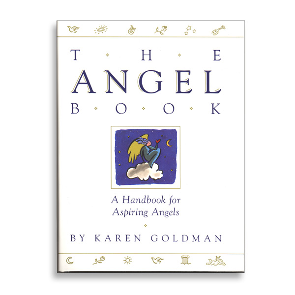 """Book Cover Illustration for """"The Angel Book"""", Simon & Schuster"""