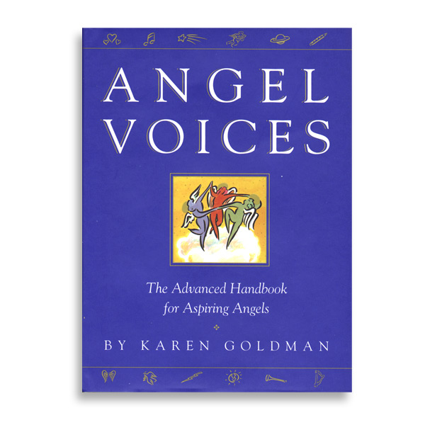 """Book Cover Illustration for """"Angel Voices"""", Simon & Schuster"""