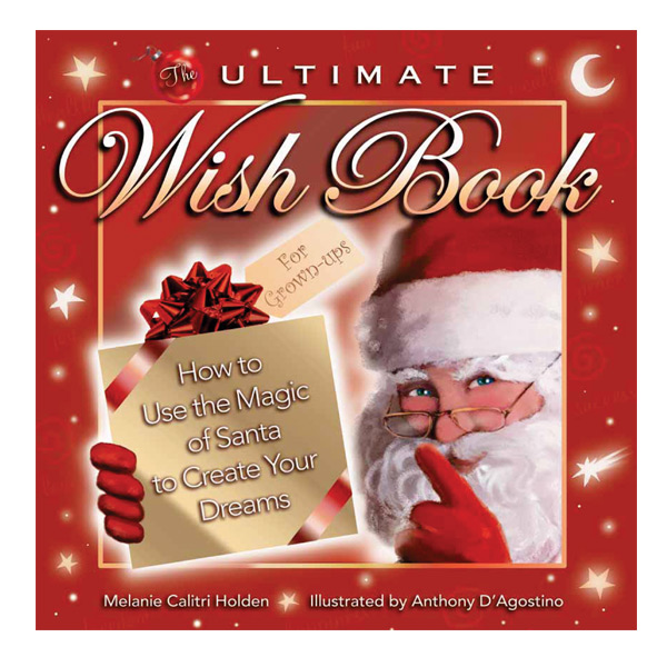"""Book cover design and illustration for """"The Ultimate Wish Book"""""""