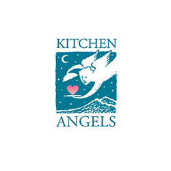 Logo Design for Kitchen Angels, Santa Fe, NM