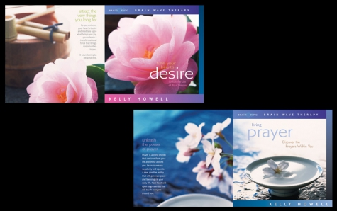 CD Packaging Design for Brain Sync by A.D. Design in Santa Fe, New Mexico