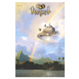 Graphic novel cover art for TWIXT, Book Two