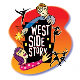 'West Side Story' Photo illustration for Greer Garson Theatre Center, Santa Fe, NM