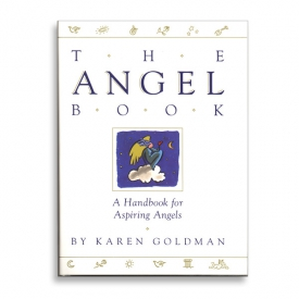 "Book Cover Illustration for ""The Angel Book"", Simon & Schuster"