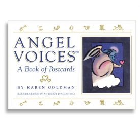 "Cover Illustration for ""Angel Voices"" postcard book, Andrews & McMeel"