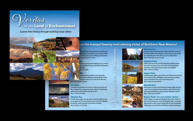 """Veritas"" Blu-ray & DVD Booklet"