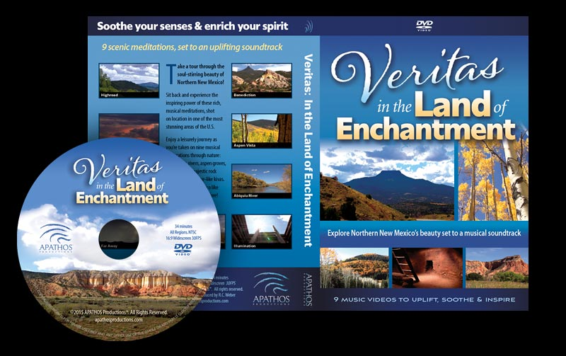 """Veritas"" Blu-ray & DVD Packaging"