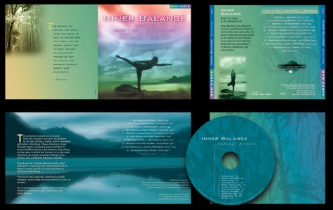 """Inner Balance"" CD Packaging Design by A.D. Design in Santa Fe, New Mexico"