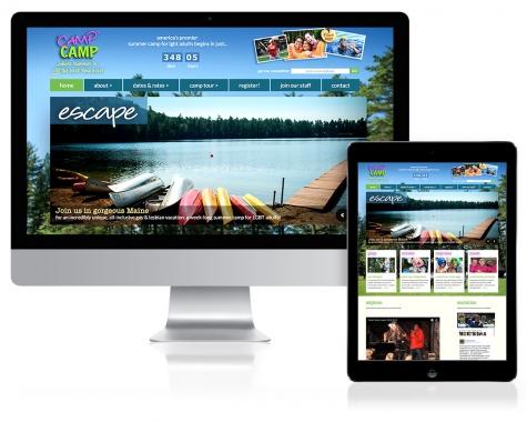 WordPress Website Design for 'Camp' Camp