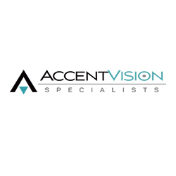 Logo Design for Accent Vision, Santa Fe, NM