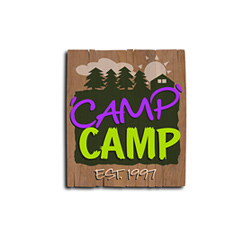Logo Design for 'Camp' Camp, Portland, ME