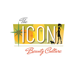 Logo Design for The ICON Beauty Culture, Santa Fe, NM