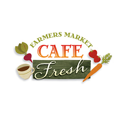 Logo Design for Cafe Fresh, Santa Fe, NM