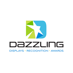 Logo Design for Dazzling Displays, Santa Fe, NM