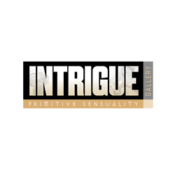 Logo Design for Intrigue Gallery, Santa Fe, NM