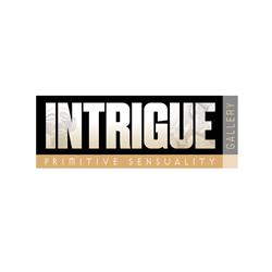 Logo Design for Intrigue Gallery, Santa Fe, NM