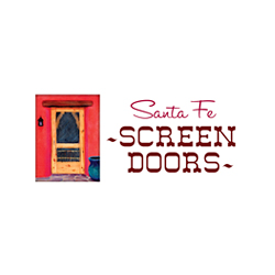 Logo Design for Santa Fe Screen Doors, Santa Fe, NM