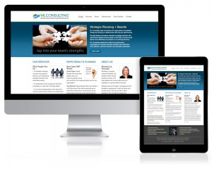 Website Design for Michele Lis Consulting by A.D. Design, Santa Fe, NM